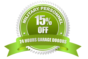 15% Off Military Personnel Discount | 24 Hours Garage Doors