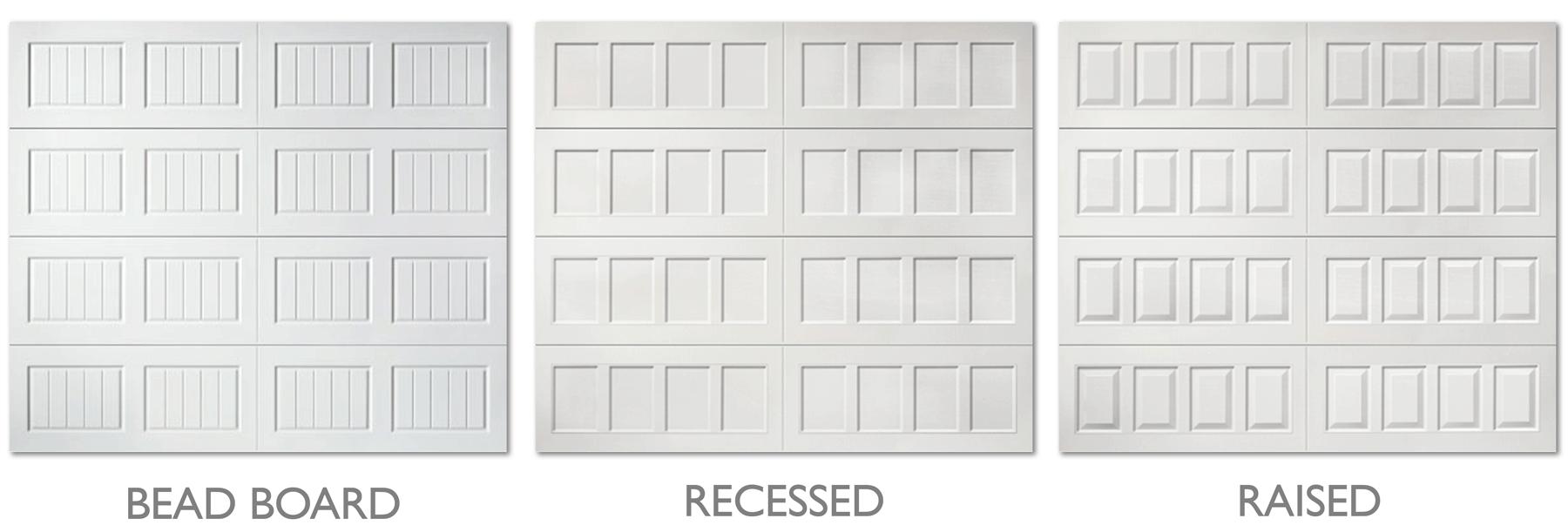 Hillcrest garage door styles