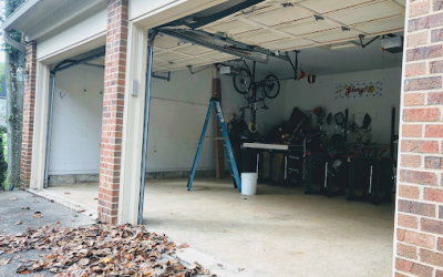 New steel garage doors and openers