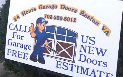 Change your old garage door